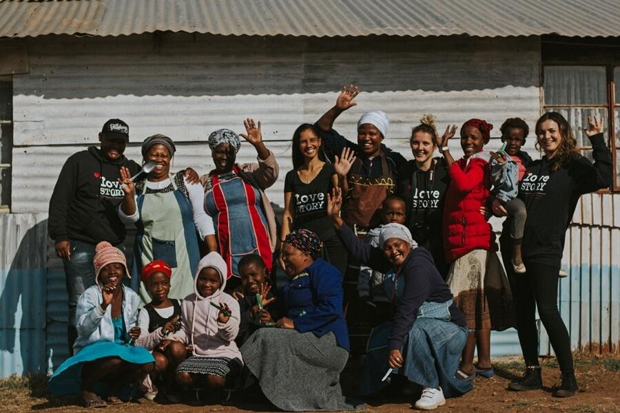Community members in Port Elizabeth