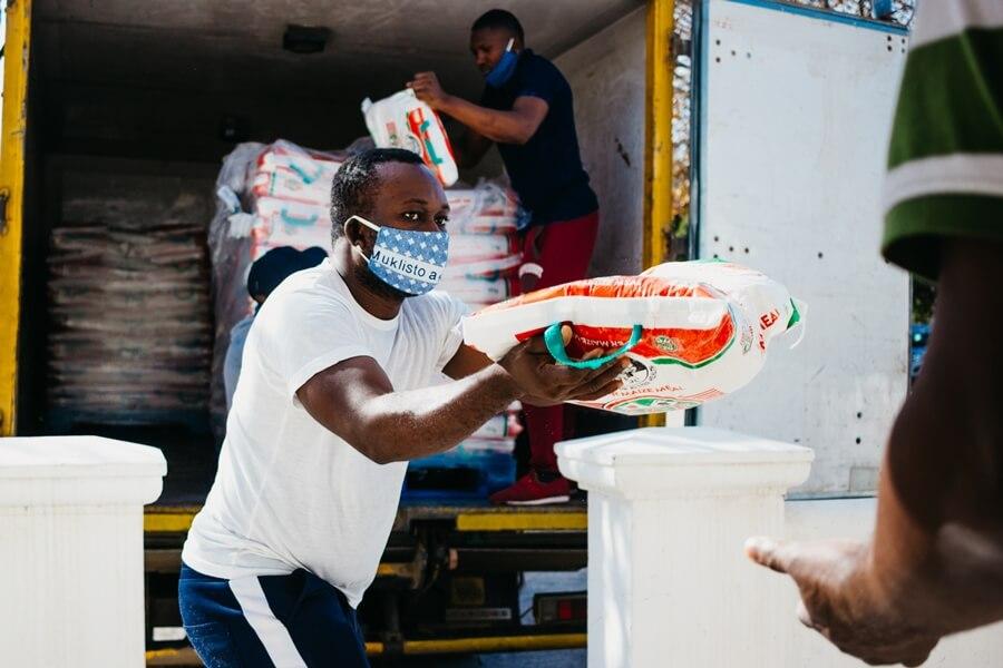 Maize Donation